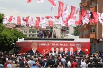 PARLAMENTO - MHP Adaylarına Oltu Ve Şenkaya'da Sevgi Seli