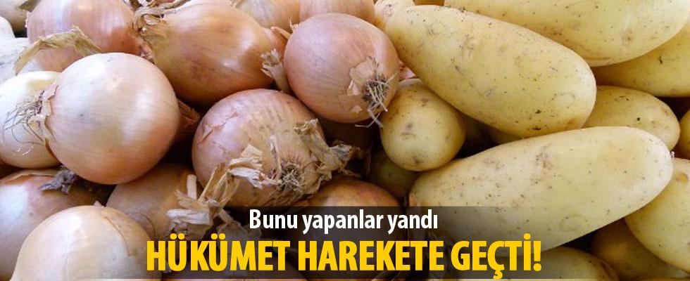 Tüfenkci: Patates ve soğan stokçularına fırsat vermeyeceğiz