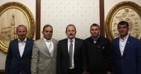 ŞADDER Yönetim Kurulu Üyeleri Vali Pehlivan'ı Ziyaret Etti