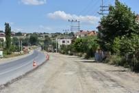 KıZıLPıNAR - Tekirdağ'da Yol Çalışmaları Sürüyor