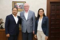 ROMAN VATANDAŞLAR - Türkiye'nin İlk Roman Milletvekili Başkan Kurt'u Ziyaret Etti