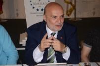 MESLEK LİSELERİ - AK Parti Milletvekili Adayı Ahmet Yelis, TÜMSİAD'ı Ziyaret Etti