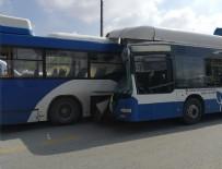 Ankara'da 2 EGO otobüsü çarpıştı: 1 ölü