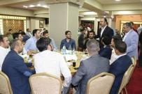 OBJEKTİF - Bakan Fakıbaba Ve Başkan Çiftçi Avukatlarla Bir Araya Geldi
