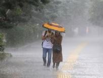 SU BASKINI - Meteoroloji'den sağanak uyarısı