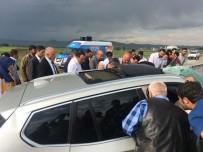 Erzurum'da Zincirleme Trafik Kazası Açıklaması 4 Yaralı