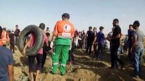 SAĞLIK ÇALIŞANI - GÜNCELLEME 2 - İsrail Askerleri Gazze Sınırında 206 Filistinliyi Yaraladı