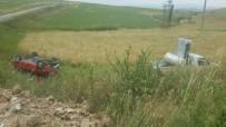 Kaman İlçesinde Trafik Kazası 3 Yaralı