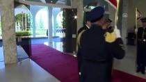 LÜBNAN CUMHURBAŞKANI - Lübnan Cumhurbaşkanı Merkel'den Sığınmacılar Konusunda Destek İstedi