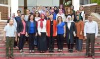 MEHTAP - Memur-Sen Kadınlar Komisyonu AK Parti'li Kıvırcık'ı Ağırladı