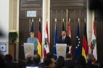 SAAD HARİRİ - Merkel, Lübnan Başbakanı Hariri İle  Görüştü