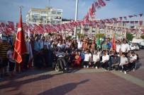 MHP, Aliağa'yı Bayraklarla Süsledi