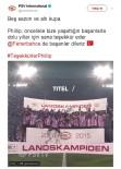 SOSYAL MEDYA - PSV, Cocu'nun Fenerbahçe'ye Gittiğini Açıkladı