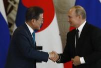 DEMİRYOLLARI - Putin, Güney Kore Lideri Moon'u Ağırladı
