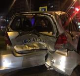 ZİNCİRLEME KAZA - Samsun'da Zincirleme Kaza Açıklaması 1 Yaralı