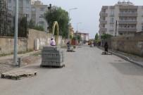 KALDIRIMLAR - Silopi'de Kaldırım Çalışmaları Devam Ediyor