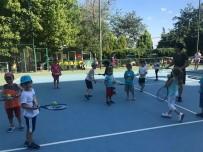 YAZ OKULU - Tekirdağ'da Ücretsiz Tenis Kursları Başladı