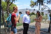 Ukrayna Televizyonunda Kuşadası Tanıtımı