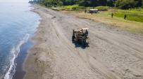 Ünye'nin Şifalı Kumsalları Temizleniyor