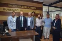 Yelis, İHA'yı Ve Türkiye Gazetesini Ziyaret Etti