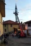 Yıkılma Tehlikesi Bulunan Minare Onarıldı, Olası Faciadan Dönüldü