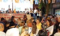 AK Parti Bodrum Konacık'ta Sokak Mitingi Yaptı