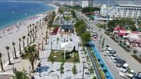 KONYAALTI SAHİLİ - Akdeniz Bulvarı Tamamen Trafiğe Açıldı