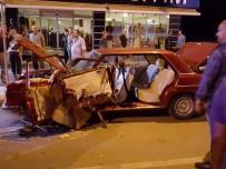 Düzce'de Tır Sürücüsü, 3 Otomobil Ve 1 Kamyona Çarptı Vatandaşlar Deprem Zannetti