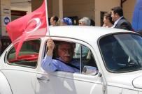 KLASİK ARABA - Eskişehir'de Kasik Araçlarla 'Demokrasi Konvoyu'