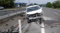 SINANOĞLU - Ferizli'de Trafik Kazası Açıklaması 1 Yaralı
