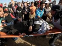 GÖZ YAŞARTICI GAZ - Gazze'deki Çatışmalarda Dün 206 Filistinli Yaralandı