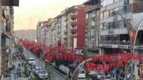Hakkari Türk Bayrakları İl Işıldıyor