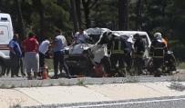 KORUCUK - Kamyonet Sürücüsü Olay Yerinde Yaşamını Yitirdi