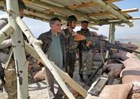 KONTROL NOKTASI - Kaymakam Özkan'dan Kontrol Noktaları Ve Üs Bölgelerine Ziyaret