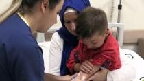 Makedonyalı Çocuğa Düzce'den Sağlık Eli