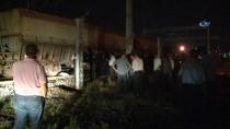 YÜK TRENİ - Manevra Yapan Tren İşçilere Çarptı Açıklaması 1 Ölü, 1 Yaralı