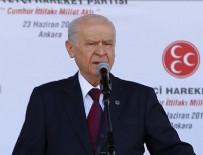 DEVLET BAHÇELİ - MHP Genel Başkanı Bahçeli: Türkiye düşmanları pusuda, zalimler küflü gözetleme kulesindedir