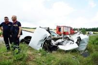 Pikap İle Otomobil Çarpıştı Açıklaması 1 Ölü, 1 Yaralı