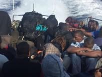 Şişme Botta 41 Kaçak Göçmen Yakalandı