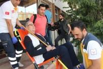 SAĞLIK EKİPLERİ - 112 Acil Servis Ekiplerinin Yardımı İle Oyunu Kullandı