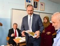 Adalet Bakanı Gül'ün oy kullandığı sandıktan Erdoğan çıktı