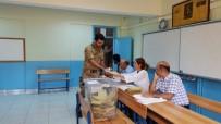 AFRİN - Afrin Kahramanları Oy Kullandı
