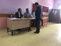 ABBAS AYDıN - AK Parti Ağrı Milletvekili Adayı Aydın Oyunu Kullandı