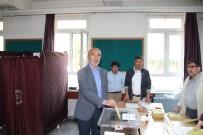 CUMHURBAŞKANLIĞI SEÇİMİ - AK Parti Konya İl Başkanı Hasan Angı Oyunu Kullandı