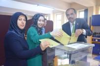 SALIH CORA - AK Parti Trabzon Milletvekili Adayları Oylarını Kullandı