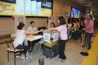 ATATÜRK - Atatürk Havalimanı'nda Oy Kullanma Yarışı