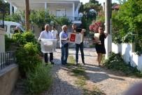 İŞÇİ EMEKLİSİ - Ayvalık'ta 17 Hasta Vatandaş Evinde Oy Kullandı