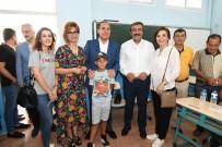 Başkan Çetin, Ailesiyle Oy Kulandı
