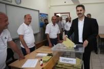 FERASET - Başkan Eroğlu, 1237 Nolu Sandıkta Oy Kullandı