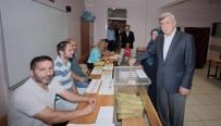 İBRAHIM KARAOSMANOĞLU - Belediye Başkanları Oylarını Kullandı
